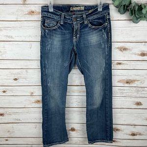 BKE Culture Stretch Bootcut Jeans Size 27